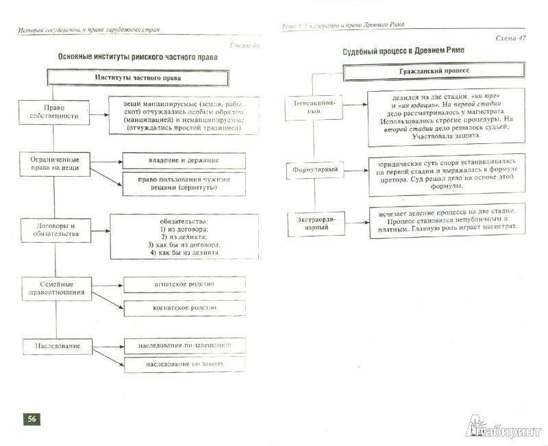 Иллюстрация 1 из 3 для История государства и права зарубежных стран в схемах - Дмитрий Пашенцев | Лабиринт - книги. Источник: Лабиринт