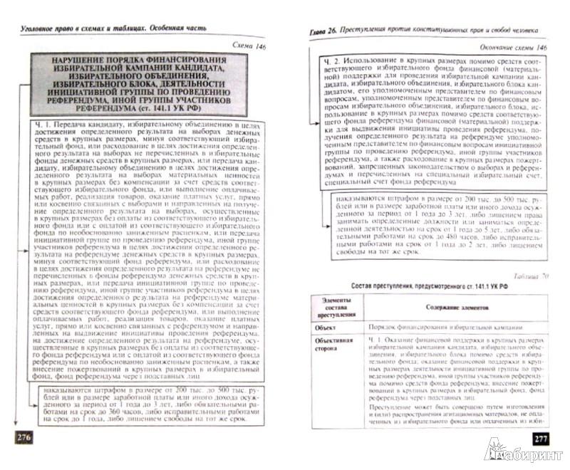 Иллюстрация 1 из 7 для Уголовное право в схемах и таблицах. Общая и Особенная части - Игорь Пикалов | Лабиринт - книги. Источник: Лабиринт