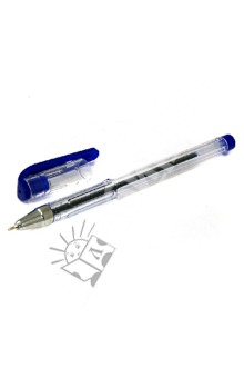 "Ручка масляная ""Lantu"" синяя (LT208-С)"
