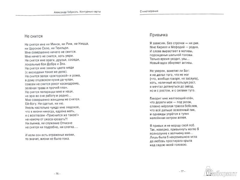 Иллюстрация 1 из 6 для Контурные карты. Стихи, миниатюры и короткая проза - Александр Габриэль | Лабиринт - книги. Источник: Лабиринт