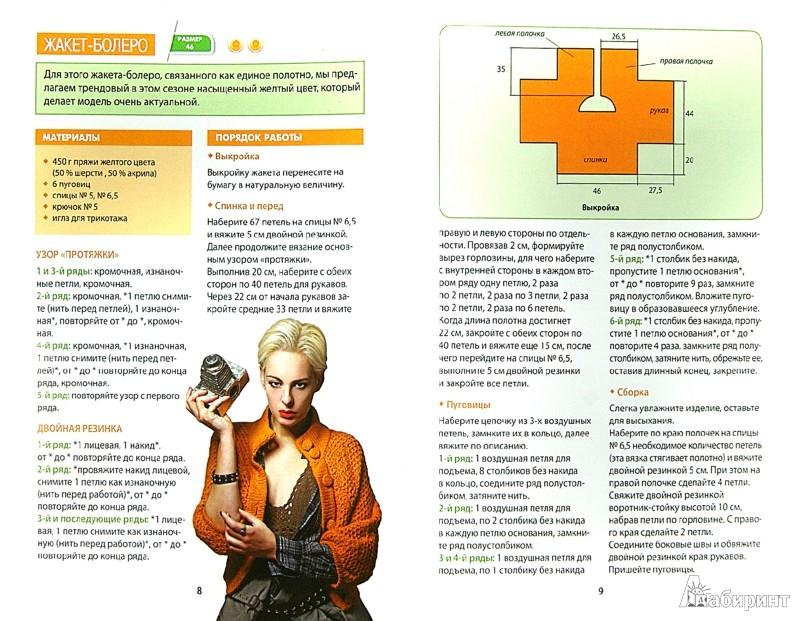 Иллюстрация 1 из 10 для Вяжем жакеты спицами и крючком - Елена Каминская | Лабиринт - книги. Источник: Лабиринт