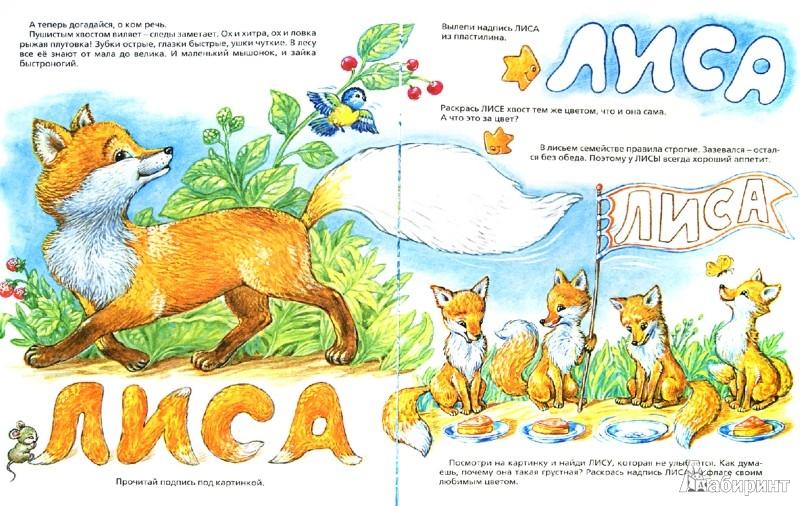 Иллюстрация 1 из 10 для Зверушки. Говорящие картинки - Е. Баканова | Лабиринт - книги. Источник: Лабиринт
