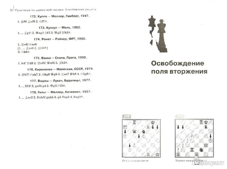 Иллюстрация 1 из 5 для Практикум по шахматной тактике. Уничтожение защиты - Николай Калиниченко | Лабиринт - книги. Источник: Лабиринт