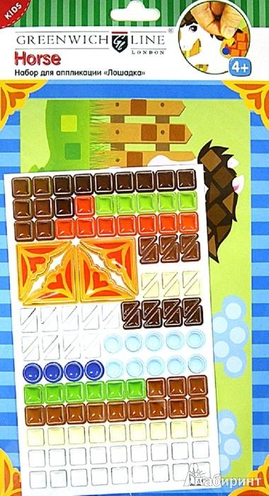 """Иллюстрация 1 из 5 для Набор для аппликации """"Лошадка"""" из объемного пластика (AP00113)   Лабиринт - игрушки. Источник: Лабиринт"""