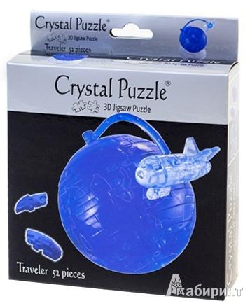 Иллюстрация 1 из 2 для 3D головоломка Путешественник (90210) | Лабиринт - игрушки. Источник: Лабиринт