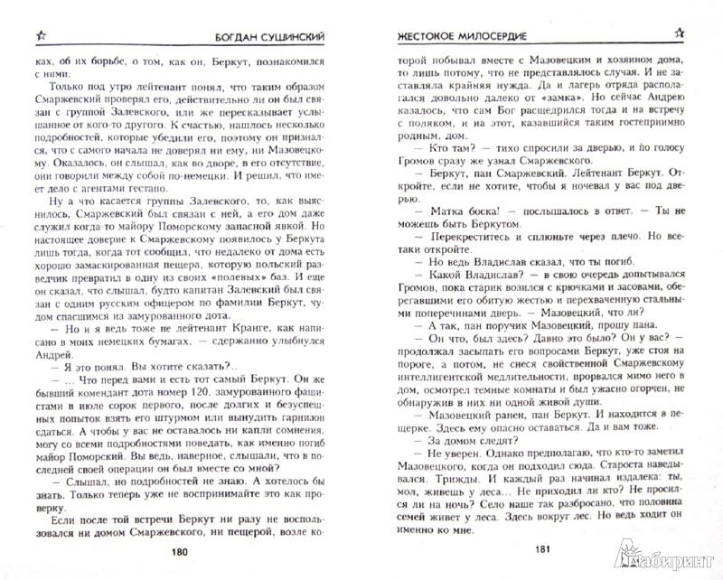 Иллюстрация 1 из 13 для Жестокое милосердие - Богдан Сушинский   Лабиринт - книги. Источник: Лабиринт