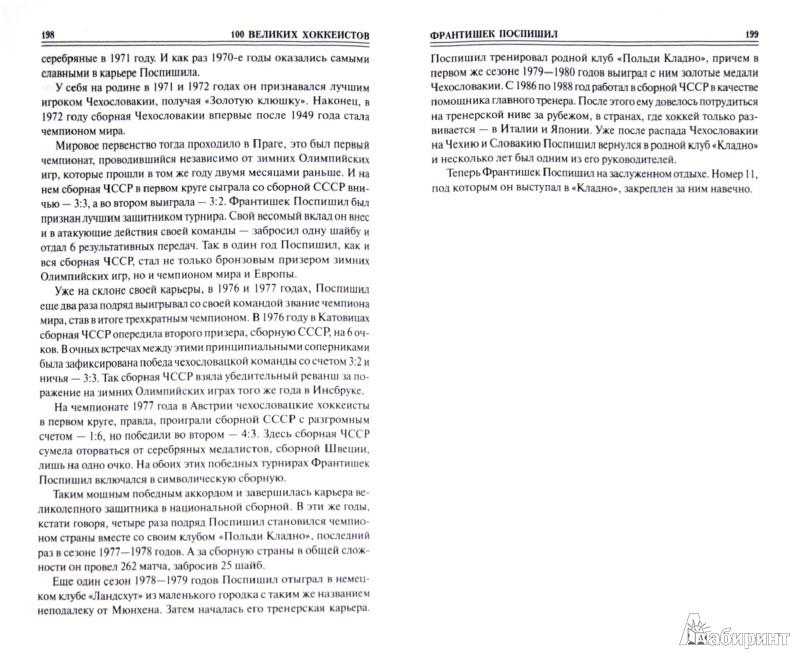 Иллюстрация 1 из 19 для 100 великих хоккеистов - Владимир Малов | Лабиринт - книги. Источник: Лабиринт