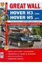Автомобили Great Wall Hover H3 (c 2009 г.), H5 2011 г.). Эксплуатация, обслуживание, ремонт