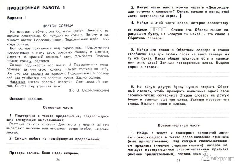 Иллюстрация 1 из 12 для Русский язык. Тетрадь для проверочных работ. 2 класс. ФГОС - Надежда Лаврова | Лабиринт - книги. Источник: Лабиринт