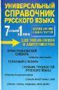 Русаков П. А. 7 словарей в 1 книге. Универсальный справочник русского языка для школьников и абитуриентов