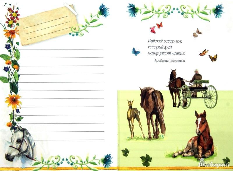 Иллюстрация 1 из 9 для Блокнот. Лошади А6 | Лабиринт - канцтовы. Источник: Лабиринт