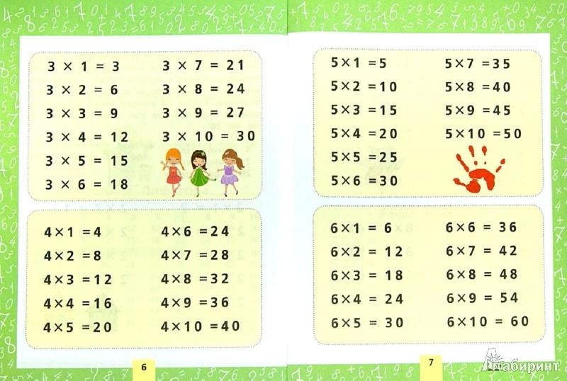 Иллюстрация 1 из 13 для Учим таблицу умножения. Для начальной школы | Лабиринт - книги. Источник: Лабиринт