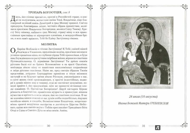 Иллюстрация 1 из 25 для Молитвы ко Пресвятой Богородице пред 45 чудотворными Ея иконами   Лабиринт - книги. Источник: Лабиринт