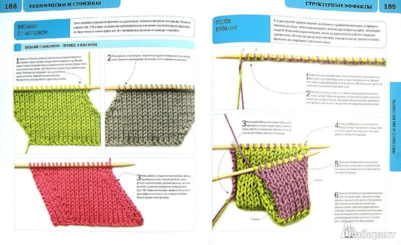 Иллюстрация 1 из 32 для Новая библия вязания спицами - Патмор, Хаффенден | Лабиринт - книги. Источник: Лабиринт