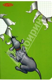 Записная книжка Color pets (120 страниц, клетка) (М-570560N) записная книжка а6 10 14см 46л клетка anan the lonely wolf картонная обложка на сшивке