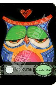 Бизнес-блокнот Modo Arte Owls А5- (6101) блокнот в пластиковой обложке моне терраса в сент адресс формат а5 160 стр арте