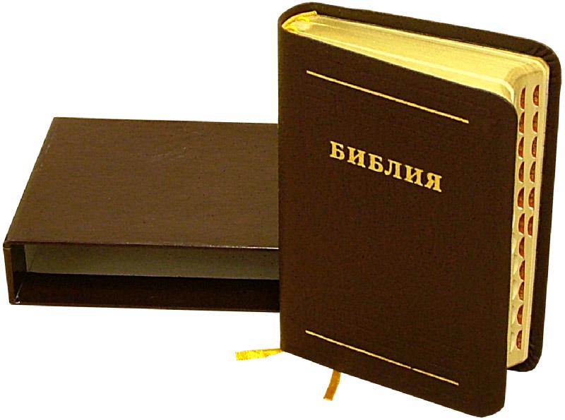 Иллюстрация 1 из 2 для Библия (малая, бордовая, в футляре) | Лабиринт - книги. Источник: Лабиринт