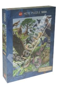 Puzzle-1000 Горные обитатели, коллажи (29618)