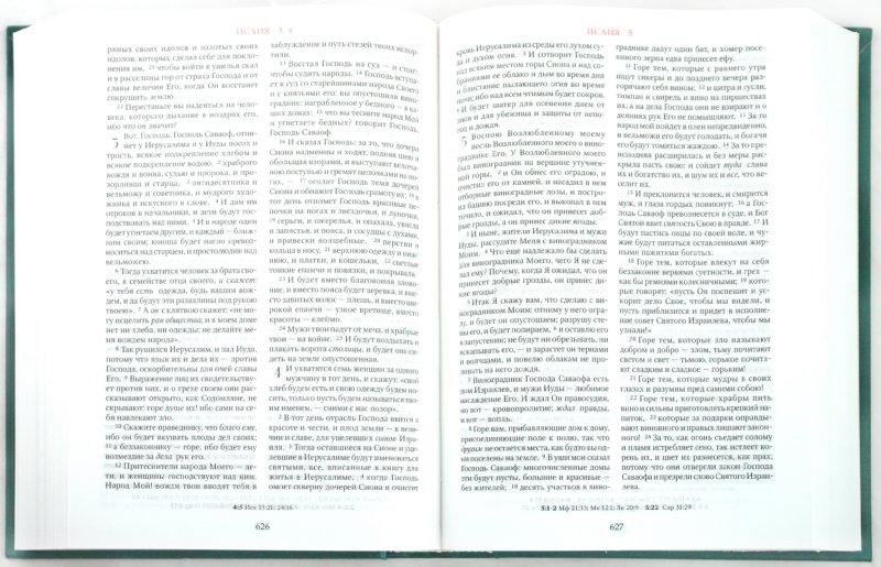 Иллюстрация 1 из 22 для Библия. Книги Священного Писания Ветхого и Нового Завета (073DC) (105) | Лабиринт - книги. Источник: Лабиринт