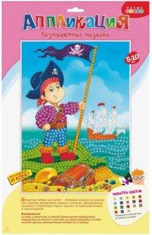 Разноцветная мозаика Пират (2605) дрофа медиа разноцветная мозаика сова