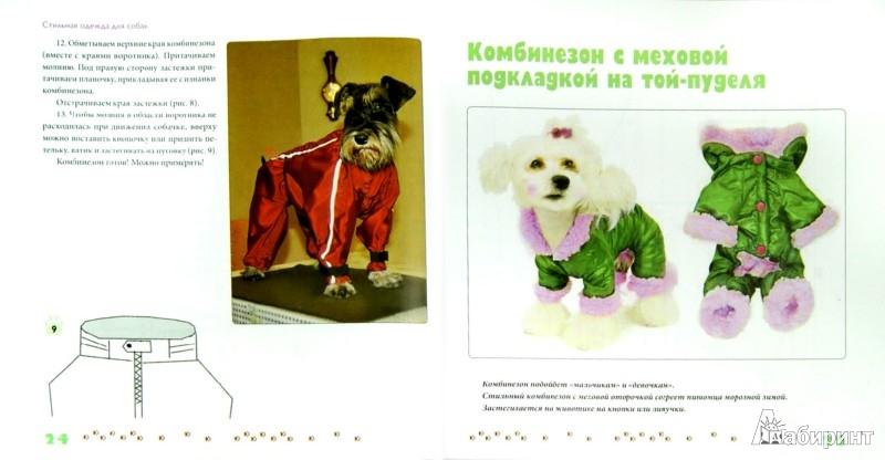 Иллюстрация 1 из 9 для Стильная одежда для собак: комбинезоны, жилеты, платья, курточки и шапки - Любовь Иванова   Лабиринт - книги. Источник: Лабиринт