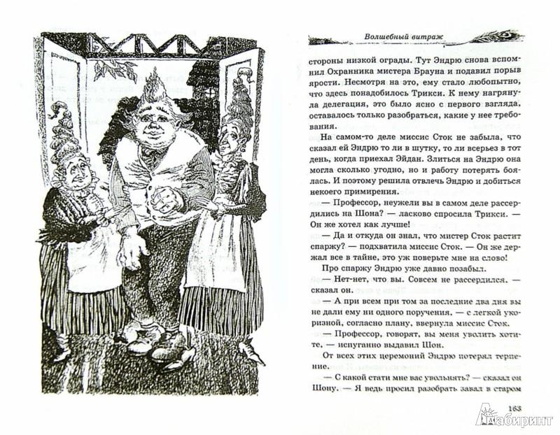 Иллюстрация 1 из 34 для Волшебный витраж - Диана Джонс | Лабиринт - книги. Источник: Лабиринт