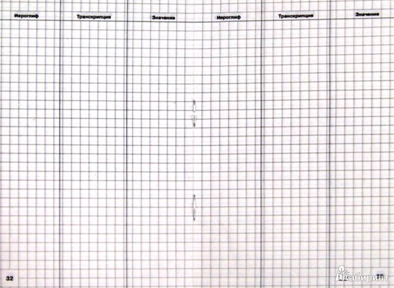 Иллюстрация 1 из 13 для Тетрадь для записи иероглифов. Китайский язык | Лабиринт - канцтовы. Источник: Лабиринт