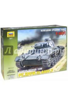 Купить Сборная модель Немецкий средний танк Т-III(F) (3571), Звезда, Бронетехника и военные автомобили (1:35)