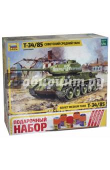 3533П/Советский средний танк Т-34/85 (М:1/35) 1 35 звезда т 26