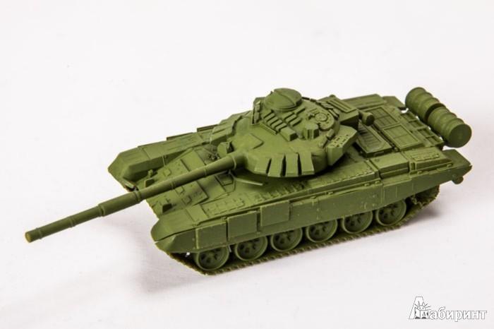 Иллюстрация 1 из 11 для Советский основной боевой танк Т-72Б (7400) | Лабиринт - игрушки. Источник: Лабиринт
