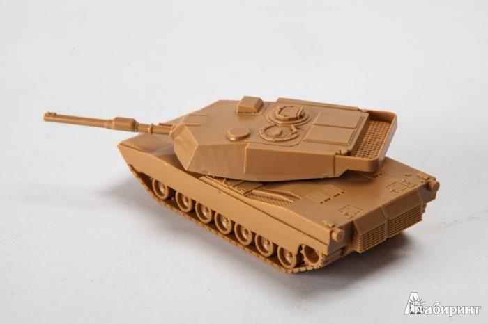 Иллюстрация 1 из 3 для Американский основной боевой танк Абрамс М1А1 (7405)   Лабиринт - игрушки. Источник: Лабиринт