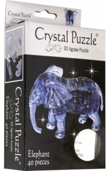 3D головоломка Слон (90135) пазлы crystal puzzle головоломка мишка