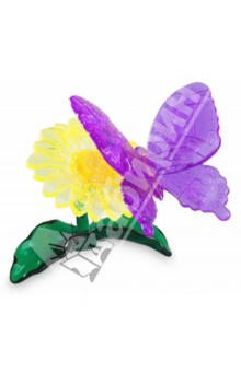"3D Головоломка ""Бабочка голубая"" (90122)"