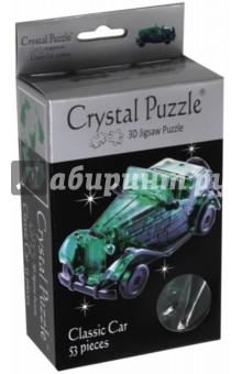 3D головоломка Автомобиль, зеленый (90231) пазлы crystal puzzle головоломка бриллиант