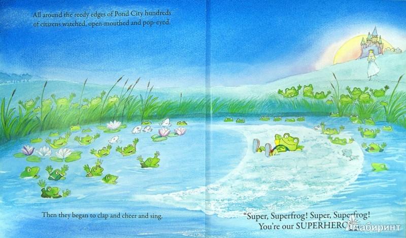 Иллюстрация 1 из 2 для Superfrog! - Michael Foreman | Лабиринт - книги. Источник: Лабиринт