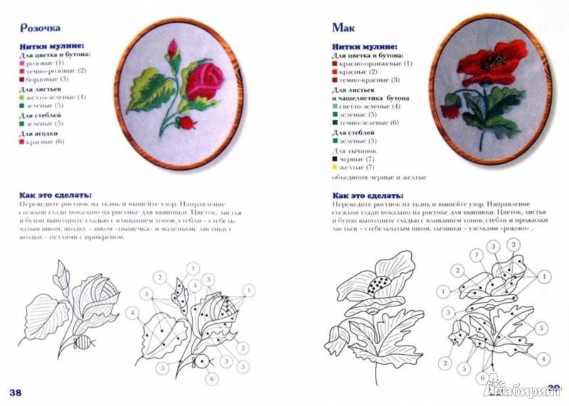 Иллюстрация 1 из 24 для Вышивка гладью. Мастер-классы для начинающих - Надежда Сотникова | Лабиринт - книги. Источник: Лабиринт