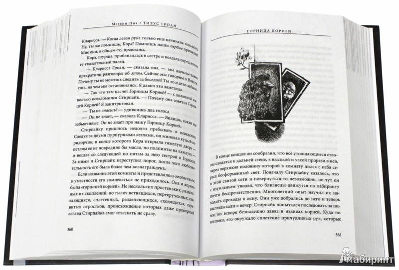 Иллюстрация 1 из 21 для Титус Гроан - Мервин Пик | Лабиринт - книги. Источник: Лабиринт