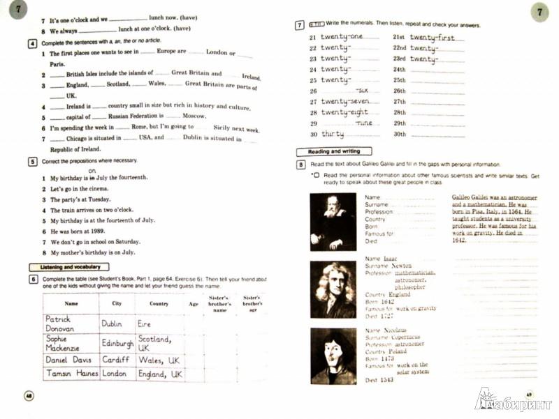 Иллюстрация 1 из 16 для Английский язык. 6 класс. Рабочая тетрадь. ФГОС (+CD) - Вербицкая, Миндрул, Гаярделли, Редли   Лабиринт - книги. Источник: Лабиринт