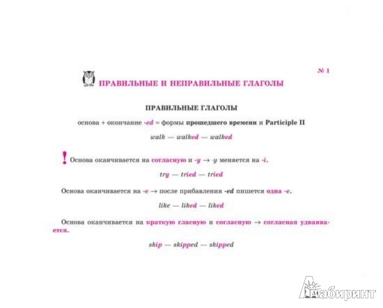 Иллюстрация 1 из 3 для Английский. Времена и формы глагола - Марина Селиванова | Лабиринт - книги. Источник: Лабиринт