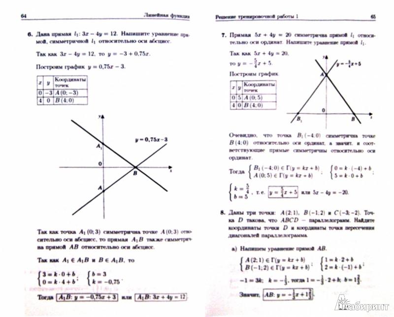 Иллюстрация 1 из 14 для Построение и преобразования графиков. Параметры. Часть 1. Линейные функции и уравнения - Александр Шахмейстер   Лабиринт - книги. Источник: Лабиринт