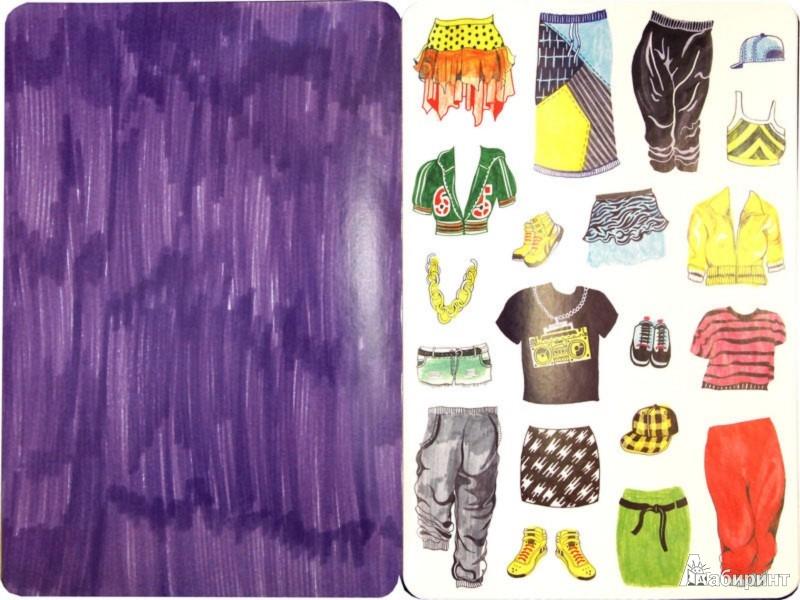 Иллюстрация 1 из 22 для Модные штучки (со стикерами) - Хенни Хэворт | Лабиринт - книги. Источник: Лабиринт