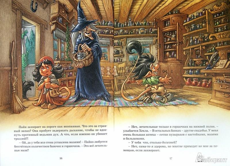 Иллюстрация 1 из 23 для Полёт на метле - Сиссель Бёэ   Лабиринт - книги. Источник: Лабиринт