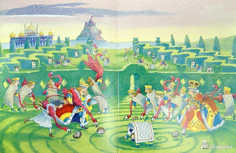 Иллюстрация 1 из 14 для Алиса в Стране Чудес - Льюис Кэрролл   Лабиринт - книги. Источник: Лабиринт