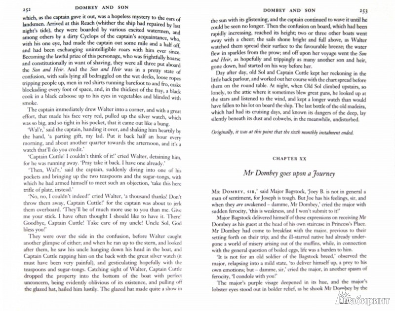 Иллюстрация 1 из 7 для Dombey and Son - Charles Dickens | Лабиринт - книги. Источник: Лабиринт