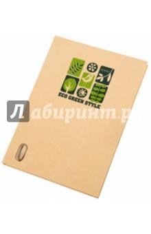 Блокнот А5 с крафт-обложкой и карандашом (070206)
