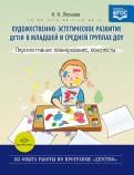 Художественно-эстетическое развитие детей в младшей и средней группах ДОУ. Перспективное планирован.