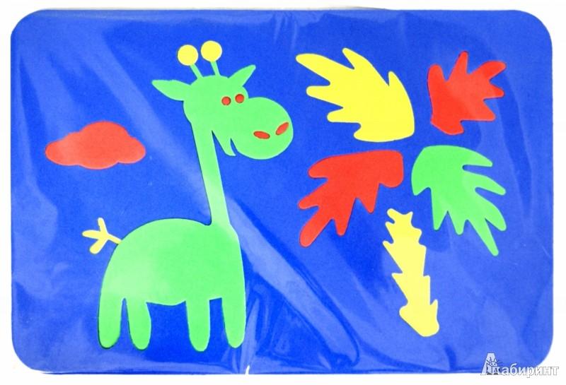Иллюстрация 1 из 5 для Мягкие пазлы. Жираф   Лабиринт - игрушки. Источник: Лабиринт