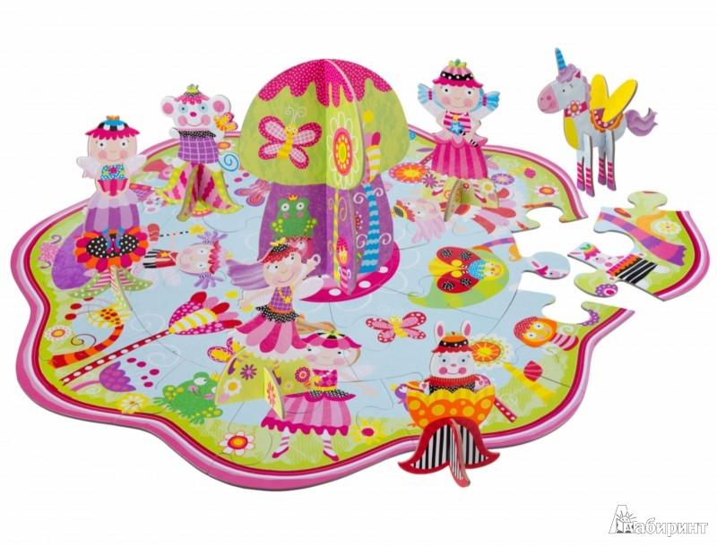 """Иллюстрация 1 из 3 для Большой пазл 3D """"Сказочная страна"""" (1453F)   Лабиринт - игрушки. Источник: Лабиринт"""