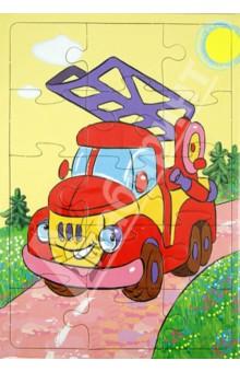 Купить Пазл-15 Пожарная машина (П-1506), Аделаида, Пазлы (15-50 элементов)