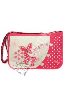 Сумка-планшет для девочек Бабочки коралловые (33443) планшет напрямую в китае оплата после получения